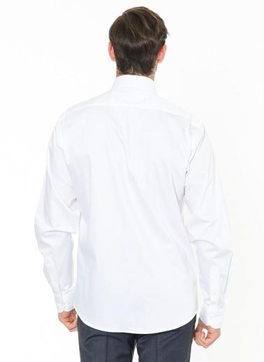 Beymen Business Uzun Kollu Klasik Gömlek Beyaz